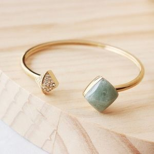 Michael Kors Stone Open Bracelet